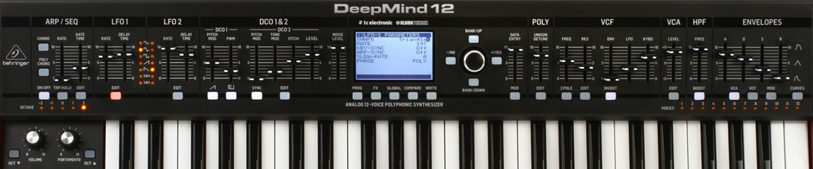 Behringer Deepmind 12 Keyboard