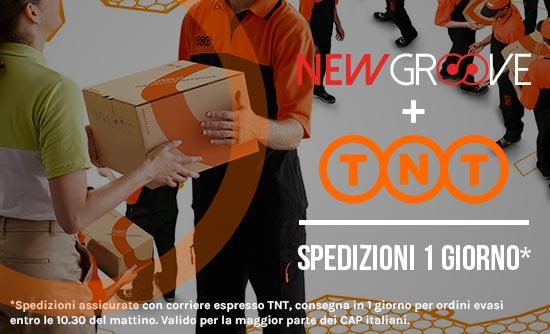 Spedizioni gratuite con corriere espresso assicurate su Newgroove