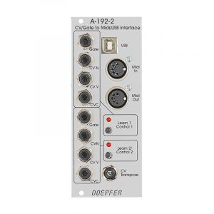 Doepfer A-192-2 Dual CV/Gate to Midi/USB Interface