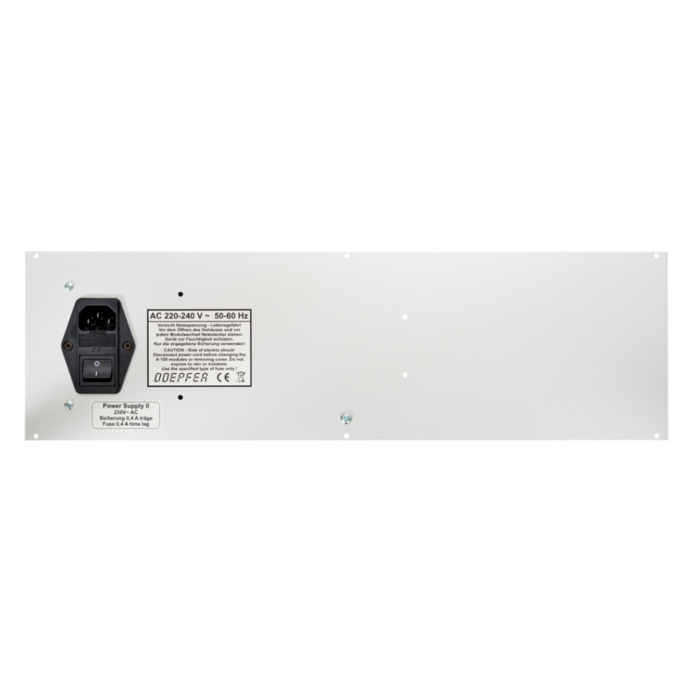 Doepfer A-100B84P v2 Back Panel 84HP with Mains Inlet