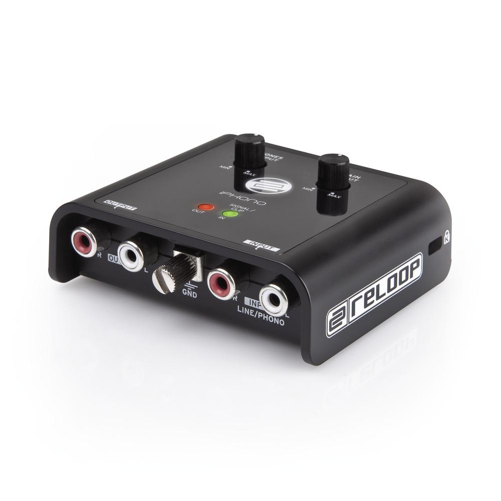 Reloop iPHONO 2 USB Phono Line Audio Interface