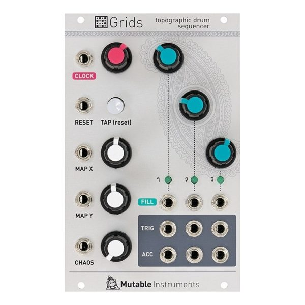 Mutable Instruments Grids Topographic Drum Sequencer