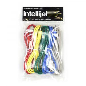 Intellijel 3,5mm Patch Cables – 5x PAK Assorted Colors 36″ (90cm)