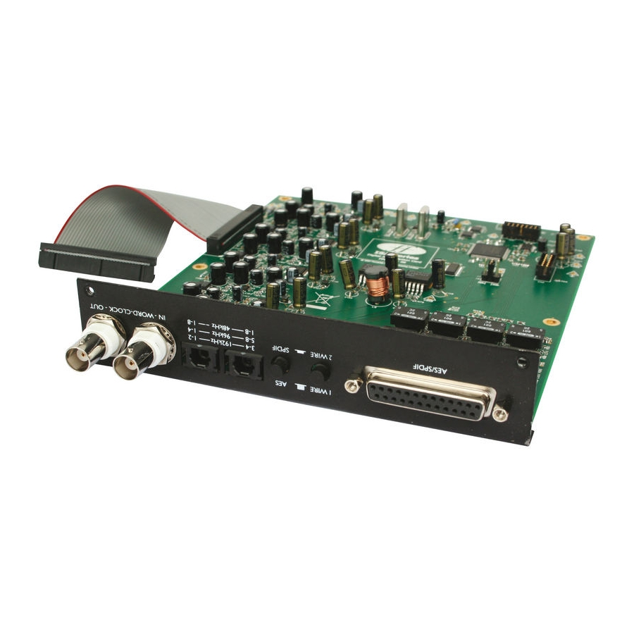 Focusrite ISA 828 Digital OUT Board