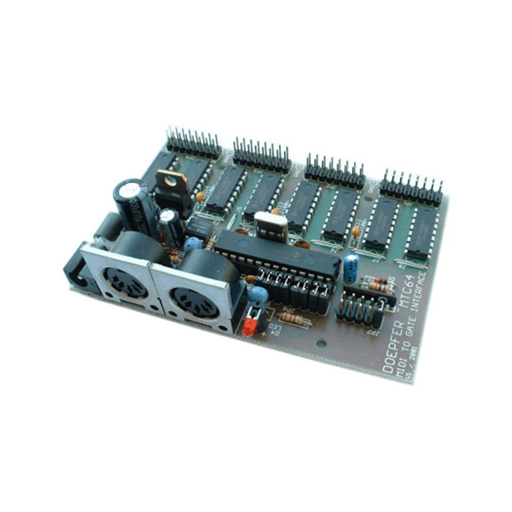 Doepfer MTC64 MIDI to Contact / GATE Interface