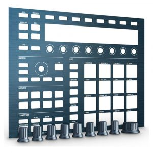 Native Instruments MASCHINE mk2 Custom KIT – Steel Blue