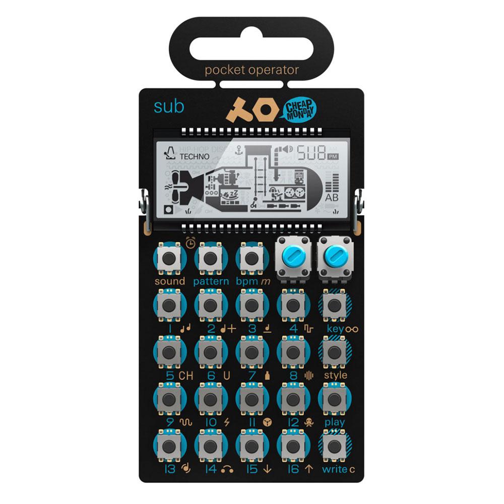 Teenage Engineering PO-14 Sub Bass Line Synthesizer