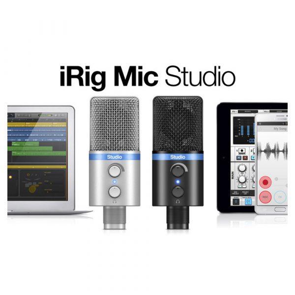 IK Multimedia iRig Mic Studio Silver