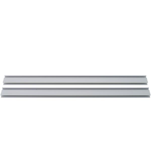Doepfer A-100 Profile Set 84HP Front Rails – Silver