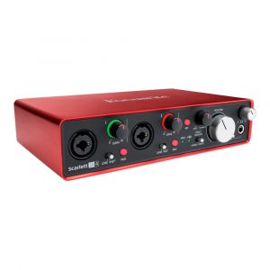 Focusrite Scarlett 2i4 2nd Generation USB Audio Interface