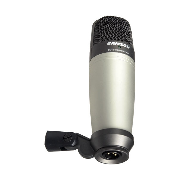 samson c01 condenser microphone vendita italia. Black Bedroom Furniture Sets. Home Design Ideas