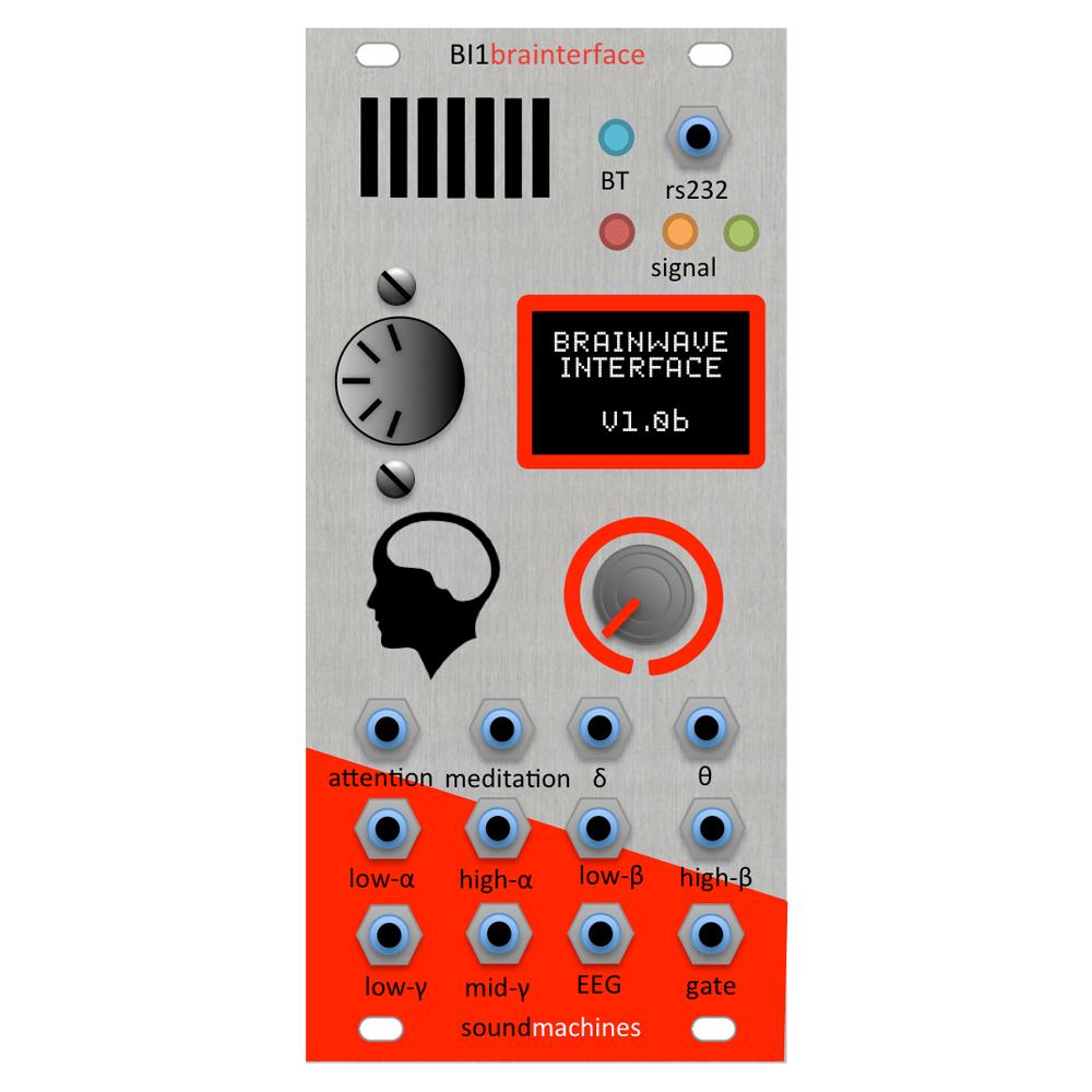 SoundMachines BI1 Brain Interface Eurorack