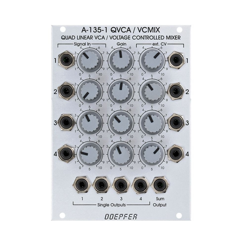 Doepfer A-135-1 Voltage Controlled Mixer / Quad VCA