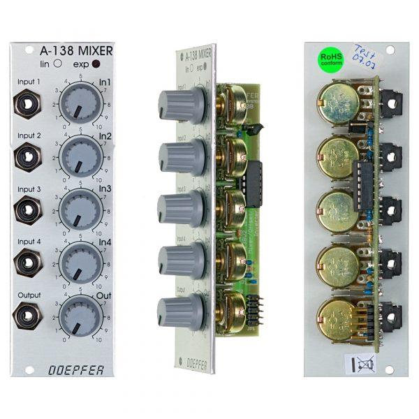 Doepfer A-138b Logarithmic Mixer