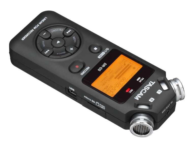 Tascam DR-05 v2 + MicroSD Card da 4GB in omaggio!!!
