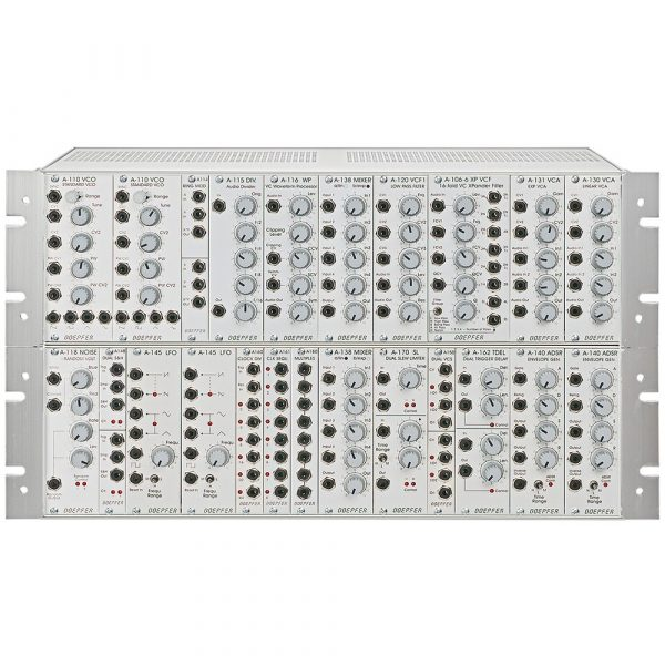 Doepfer A-100BS1G6 Basic System 1 con case G6 e PSU3