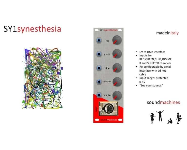 SoundMachines SY1 synesthesia