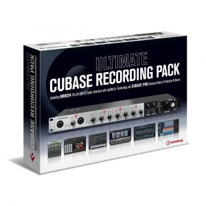 Steinberg Ultimate Cubase Recording Pack UR824 Cubase Pro 10 Italiano