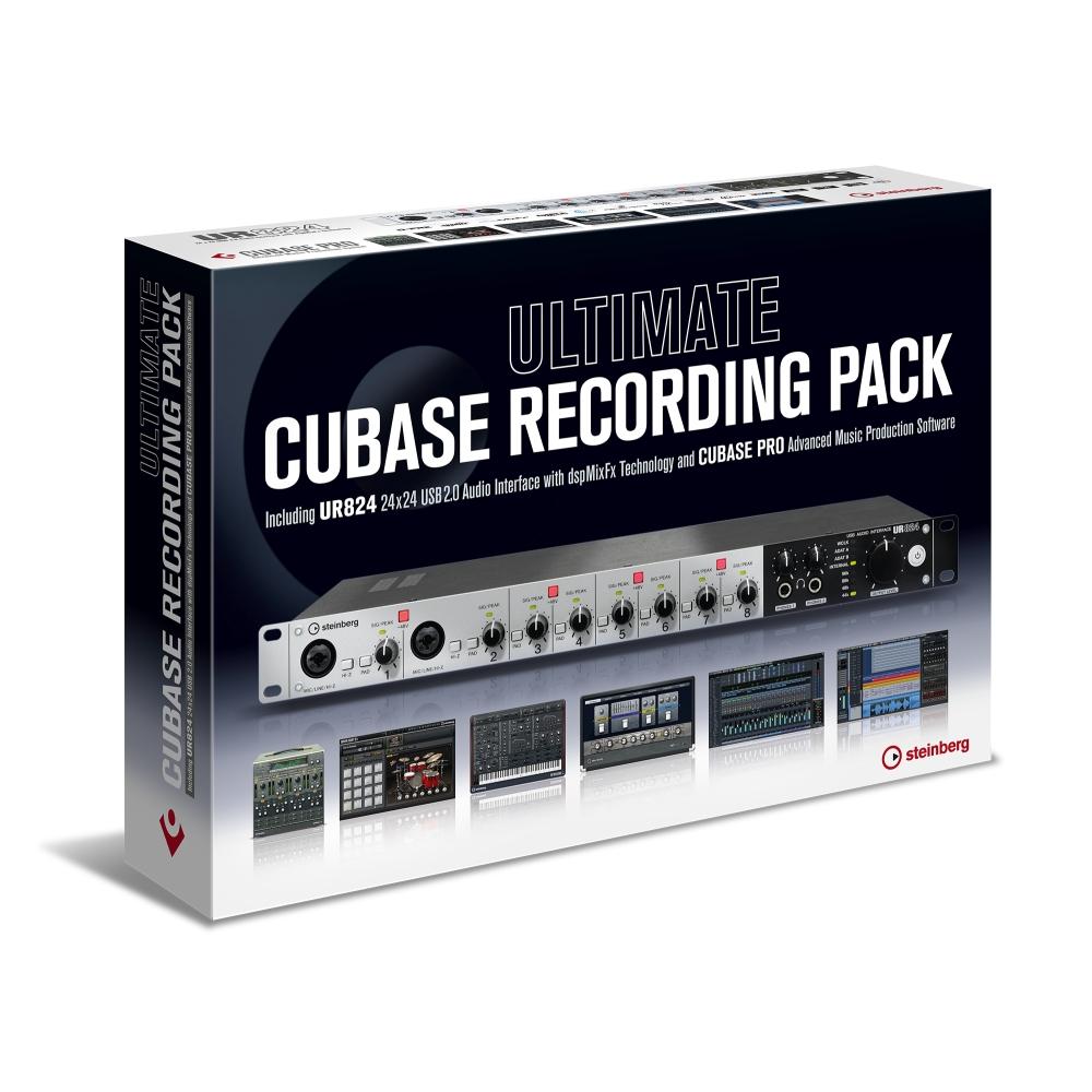 Steinberg Ultimate Cubase Recording Pack UR824 Cubase Pro 10 Italiano