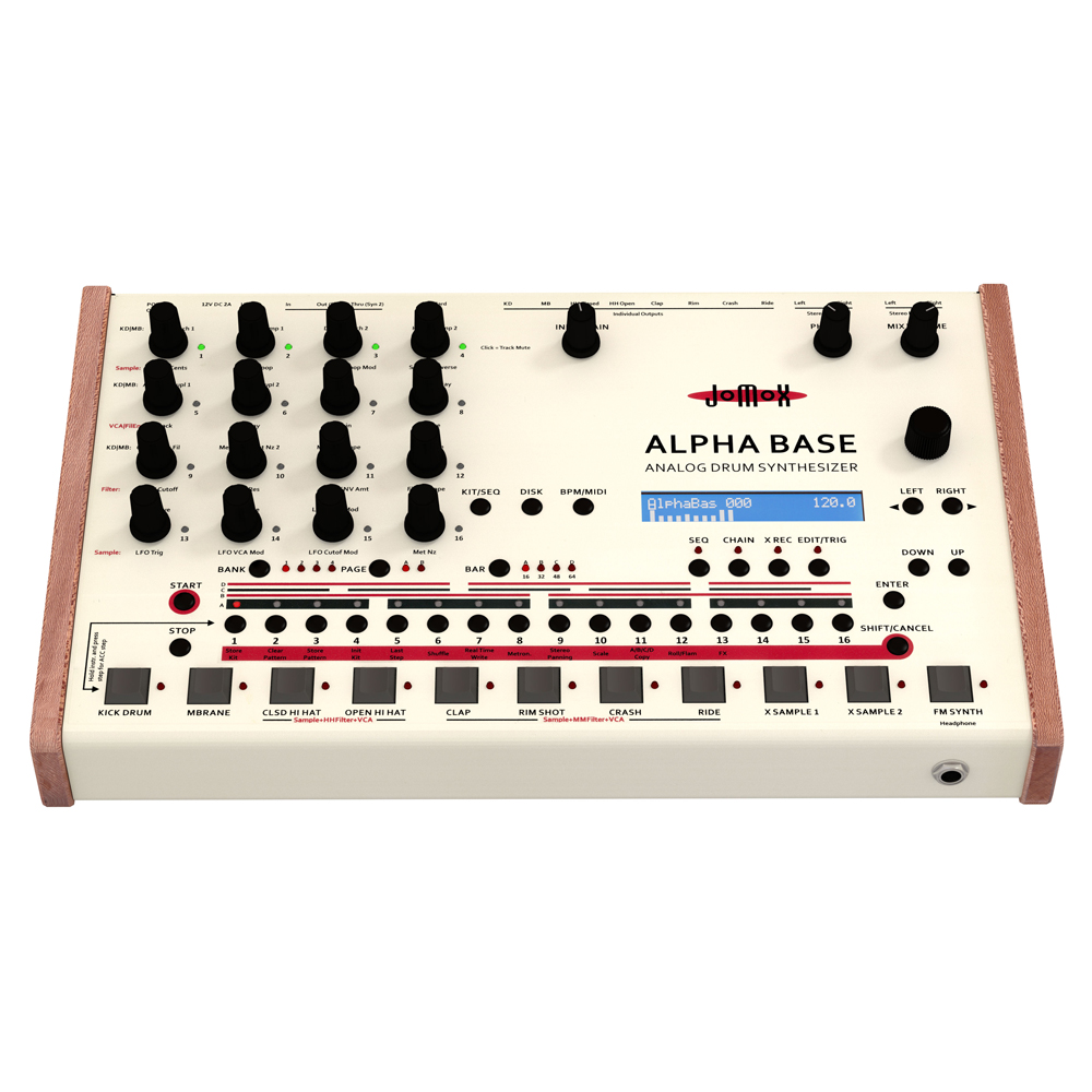 Jomox ALPHA Base Analog Drum Machine Synthesizer