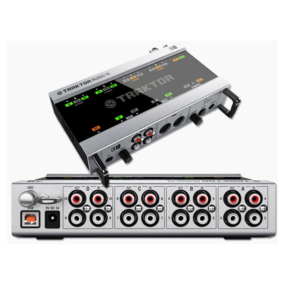 Native Instruments TRAKTOR Audio 10 Interface (usato) | da NewGroove it