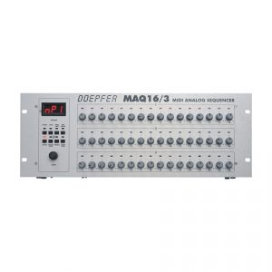 Doepfer MAQ16/3 Red Leds MIDI Analogue Sequencer