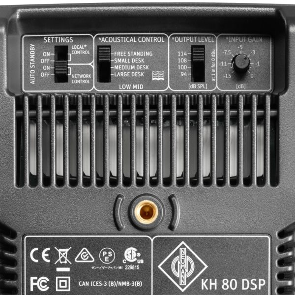 Neumann KH 80 DSP A G Black (coppia)