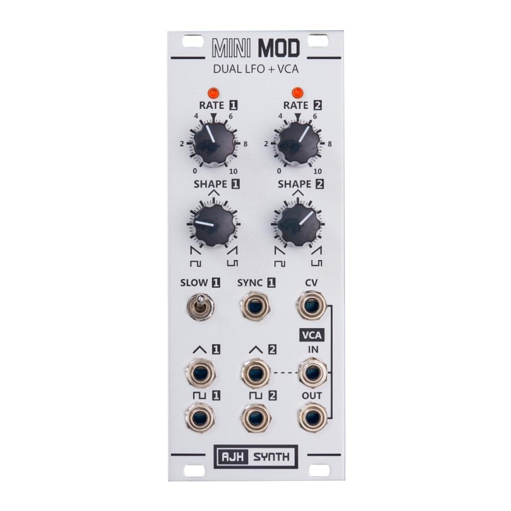 AJH Synth MiniMod DUAL LFO + VCA Silver