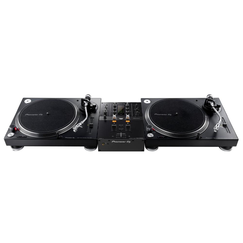 Pioneer PLX500DM-Pack: 2x PLX-500-K + 1x DJM-250mk2