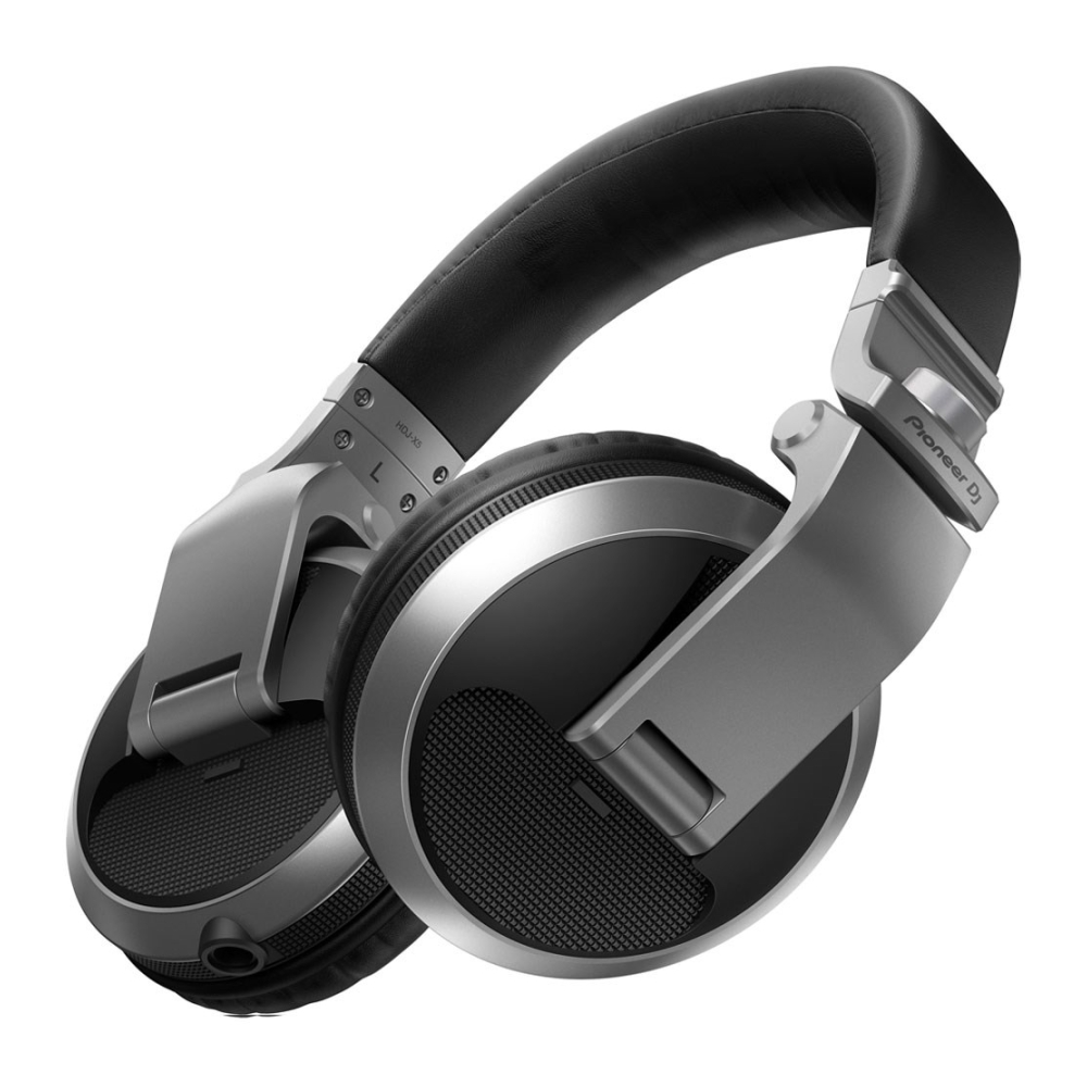 Pioneer HDJ-X5 Silver DJ Headphones