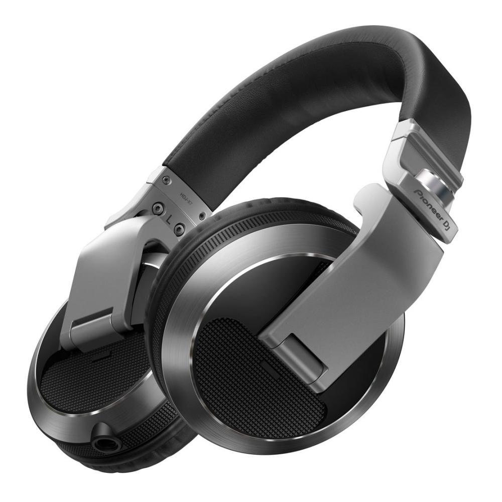 Pioneer HDJ-X7 Silver Professional Over-Ear DJ Headphones