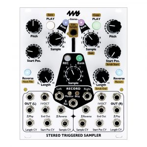 4ms Stereo Triggered Sampler (STS)
