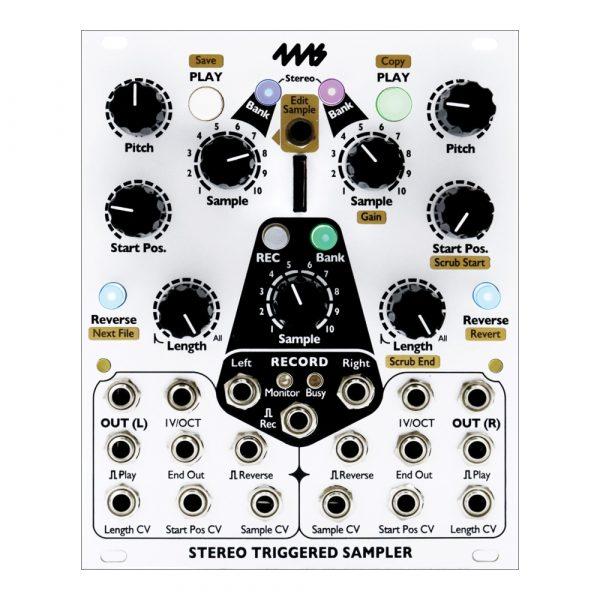 4ms Stereo Triggered Sampler STS