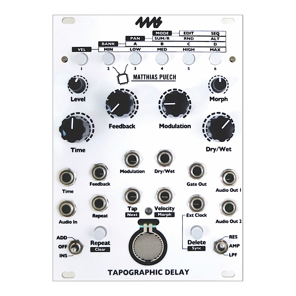 4ms Tapographic Delay (TAPO)