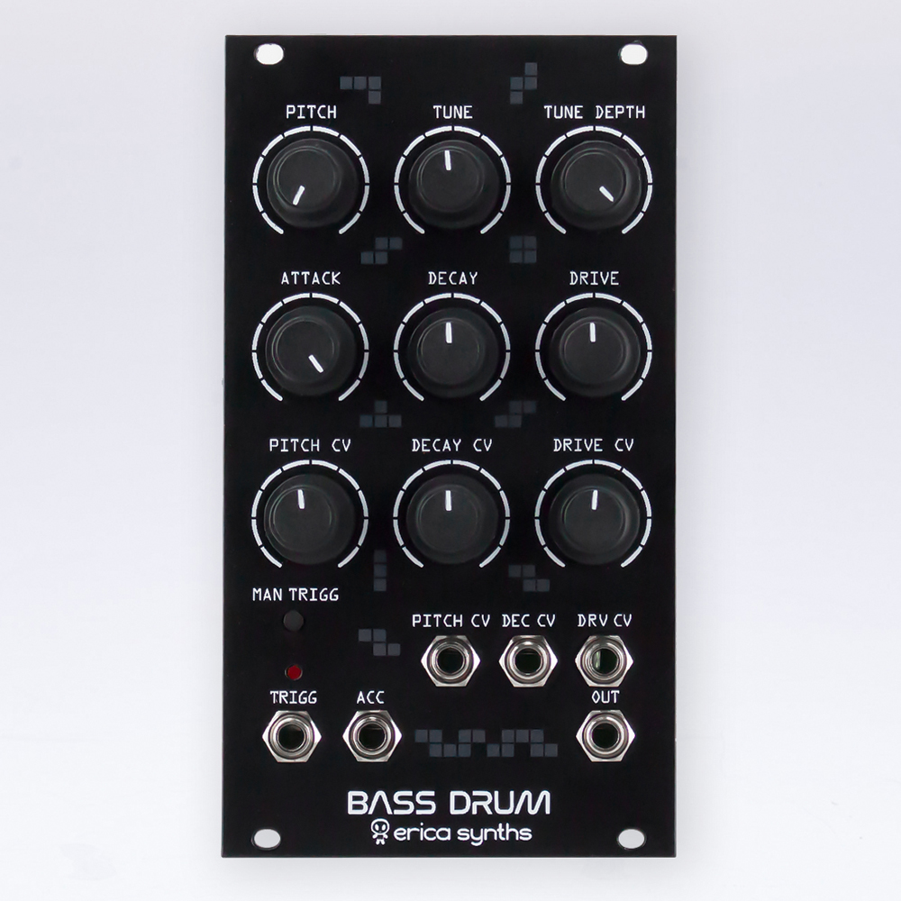 Erica Synth Bass Drum Black
