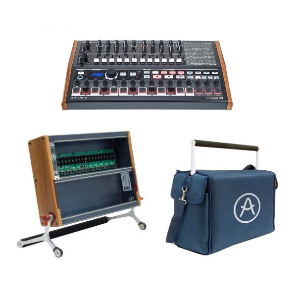 Arturia MiniBrute 2s Bundle con RackBrute 6U e Travel Bag