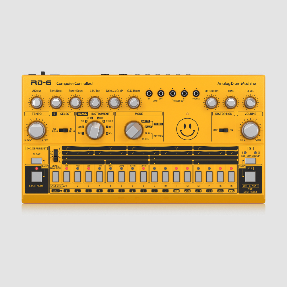 Behringer RD-6-AM Yellow