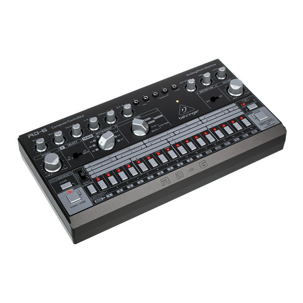 Behringer RD-6-BK (black) Rhythm Designer