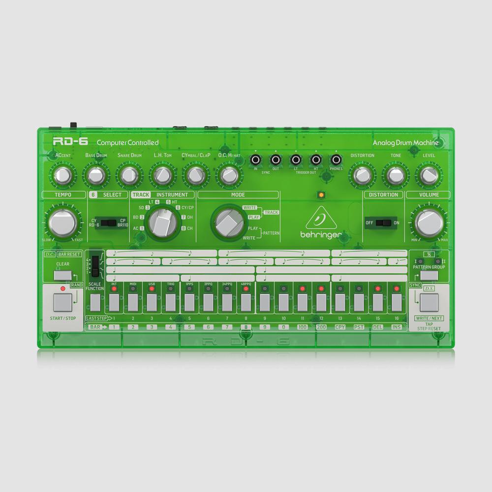 Behringer RD-6-LM Lime