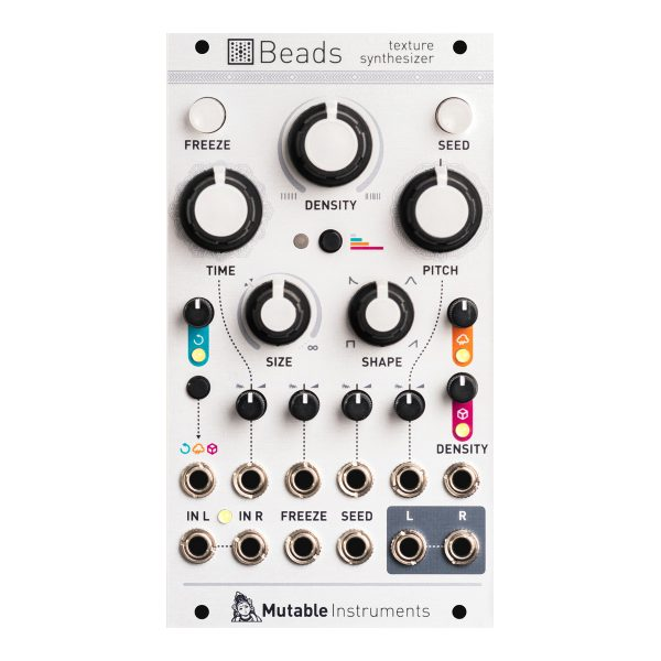 Mutable Instruments Beads texture synthesizer white