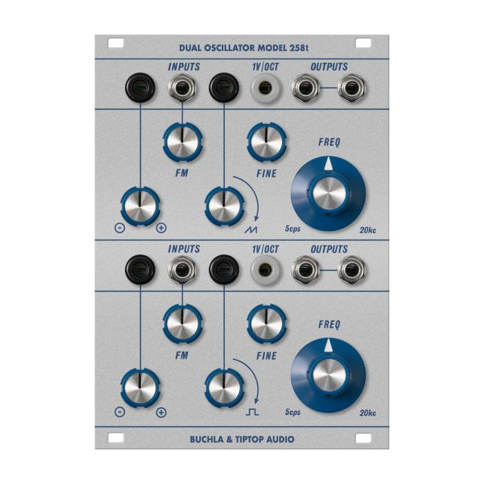 Buchla & TipTop Audio model 258t Dual Oscillator