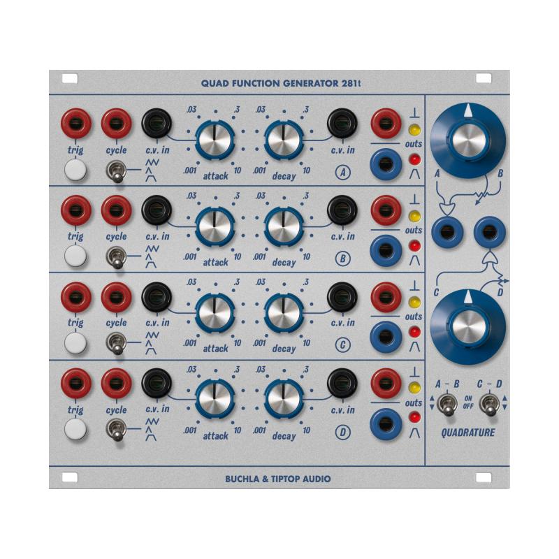 Buchla & TipTop Audio model 281t Quad Function Generator